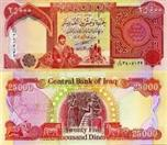 CENTRAL BANK OF IRAQ Paper Money - World 25000 DINAR NOTE